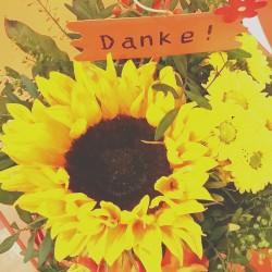 Dankeschön-Blumen