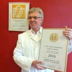 Zertifikat 2016 für biologische Krebstherapien